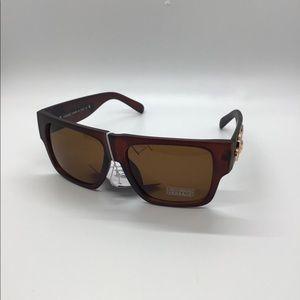 Versace Sunglasses New flat brown